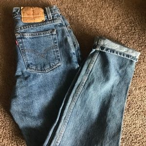 Levi's 512 Mom jeans!